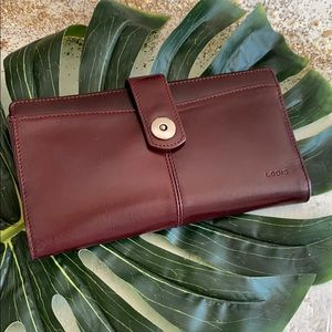 Lodis Soft Sophisticated Simple Leather Wallet